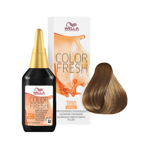 7/00 Mittelblond-natur Wella Color fresh 75ml