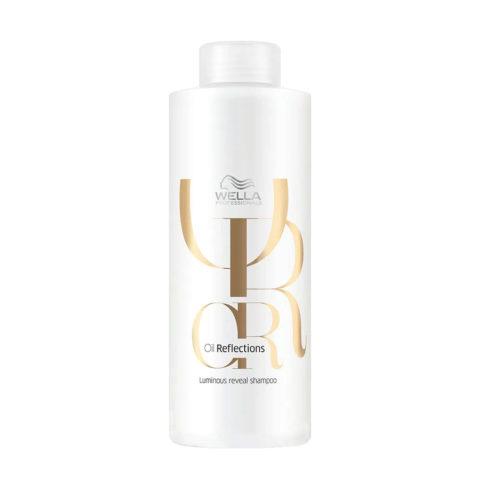 Wella Oil Reflections Shampoo 1000ml - für strahlenden glanz