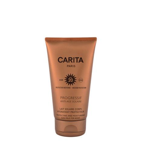 Carita Skincare Lait Corps Hydratant Protecteur SPF 20, 150ml - Sonnenmilch