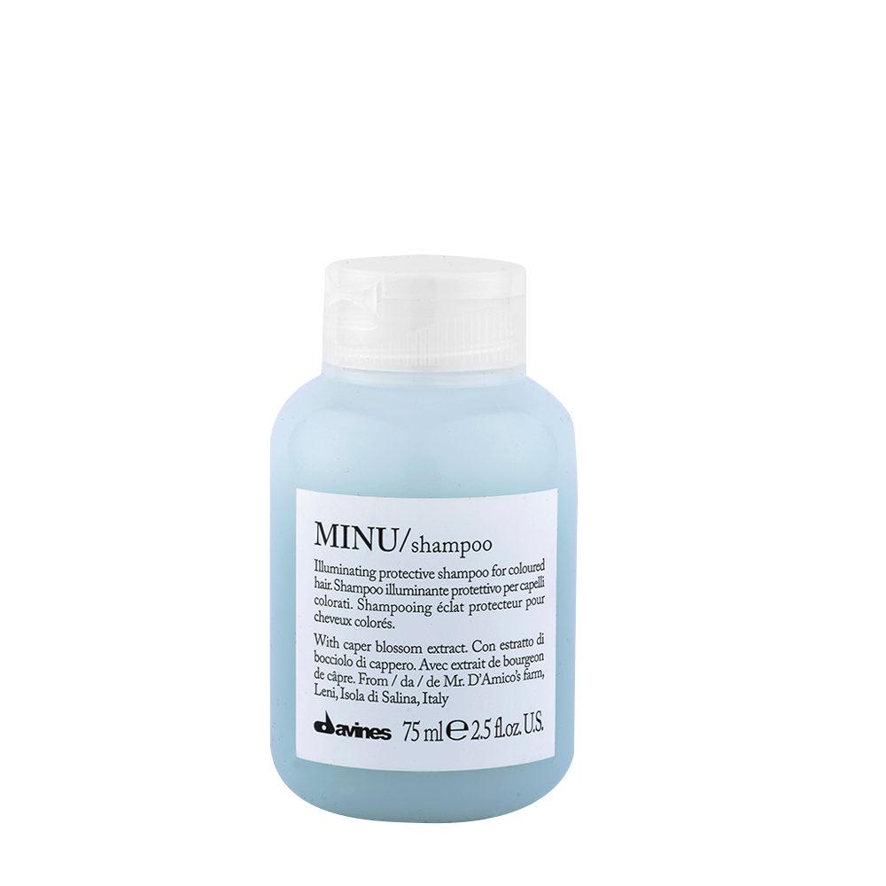 Davines Essential hair care Minu Shampoo 75ml - Leuchtkraftverstärkender shampoo