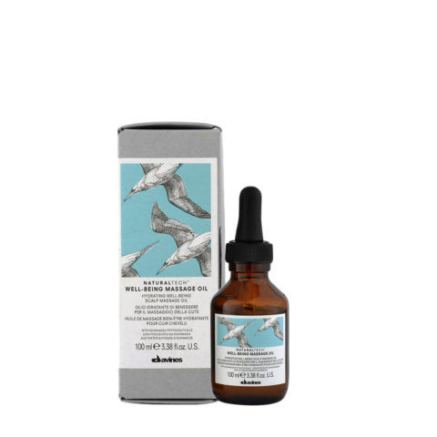 Davines Naturaltech Wellbeing Massage Oil 100ml