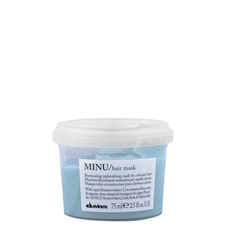 Davines Essential hair care Minu Hair mask 75ml - Leuchtkraftverstärkende Haarmaske