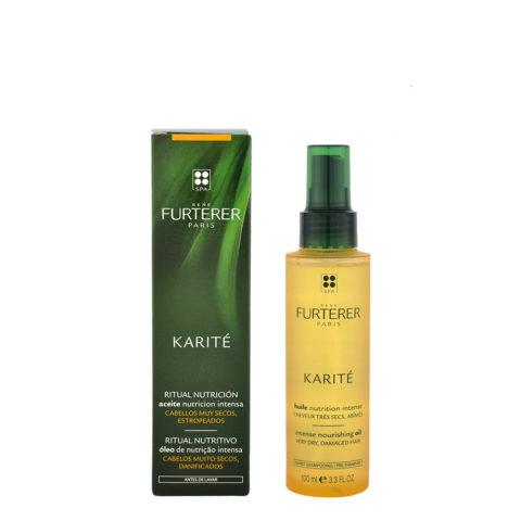 René Furterer Karité nährendes Haaröl für wunderschönes Haar 100ml sehr trockene Kopfhaut/Haare