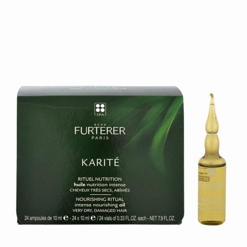 René Furterer Karité Olio di bellezza e nutrimento intenso 24x140ml