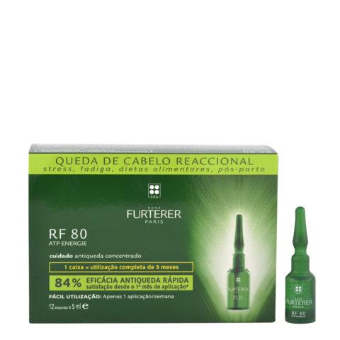 René Furterer RF80 Konzentrat gegen Haarausfall 12x5ml