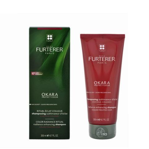 René Furterer Okara Radiance Enhancing Shampoo 200ml