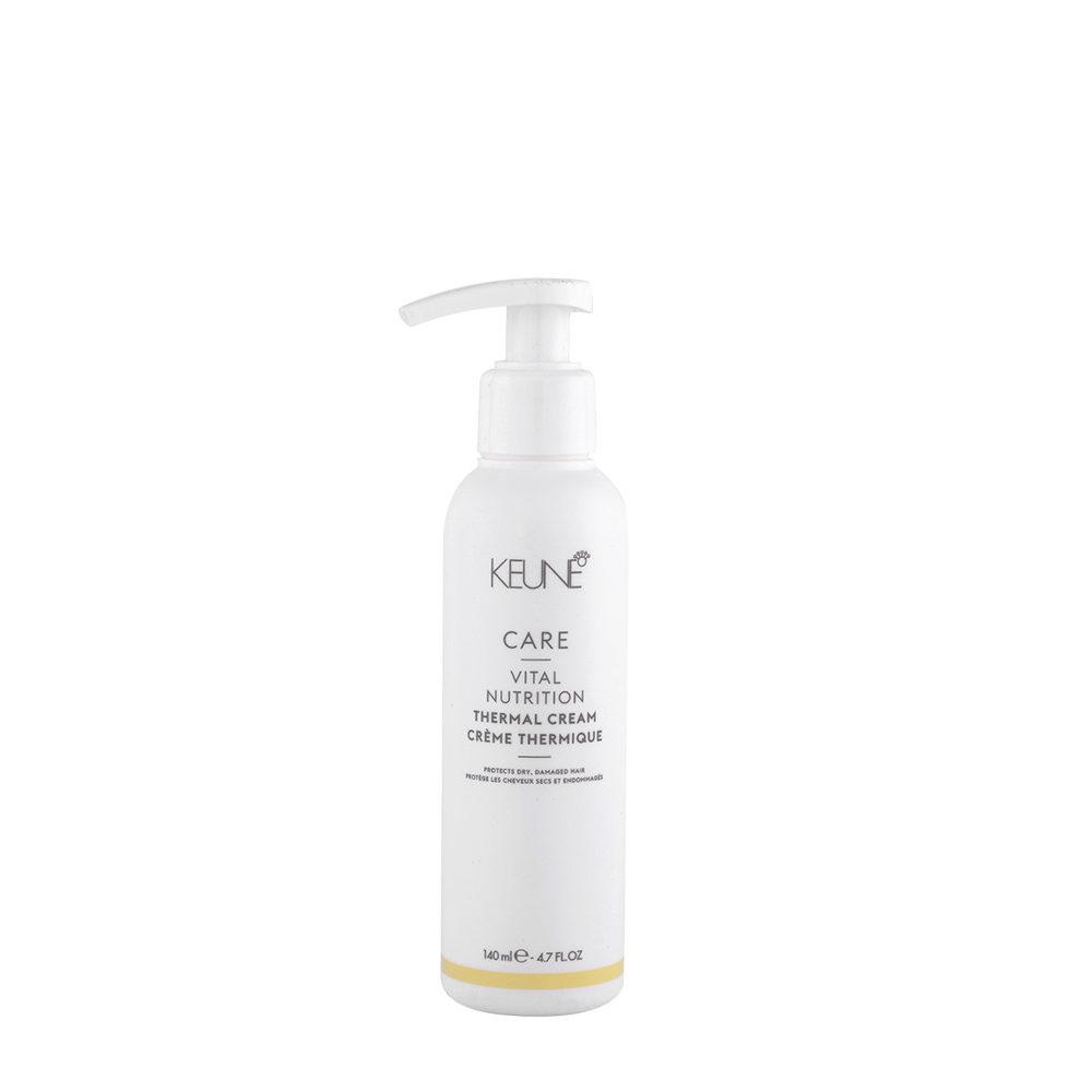 Keune Care Line Vital Nutrition Thermal Cream 140ml - Hitzeschutzcreme