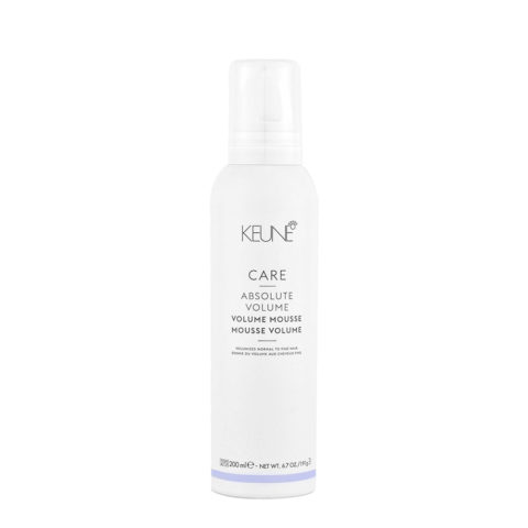 Keune Care Line Absolute Volume Mousse 200ml - Volumen Mousse