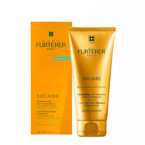 René Furterer Solaire Nourishing repair shampoo 200ml After Sunscreen Nährendes & Repair Shampoo