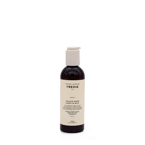 Previa Keeping Organic Colour Shine Leave in Milk 200ml Haarmilch ohne Spülung