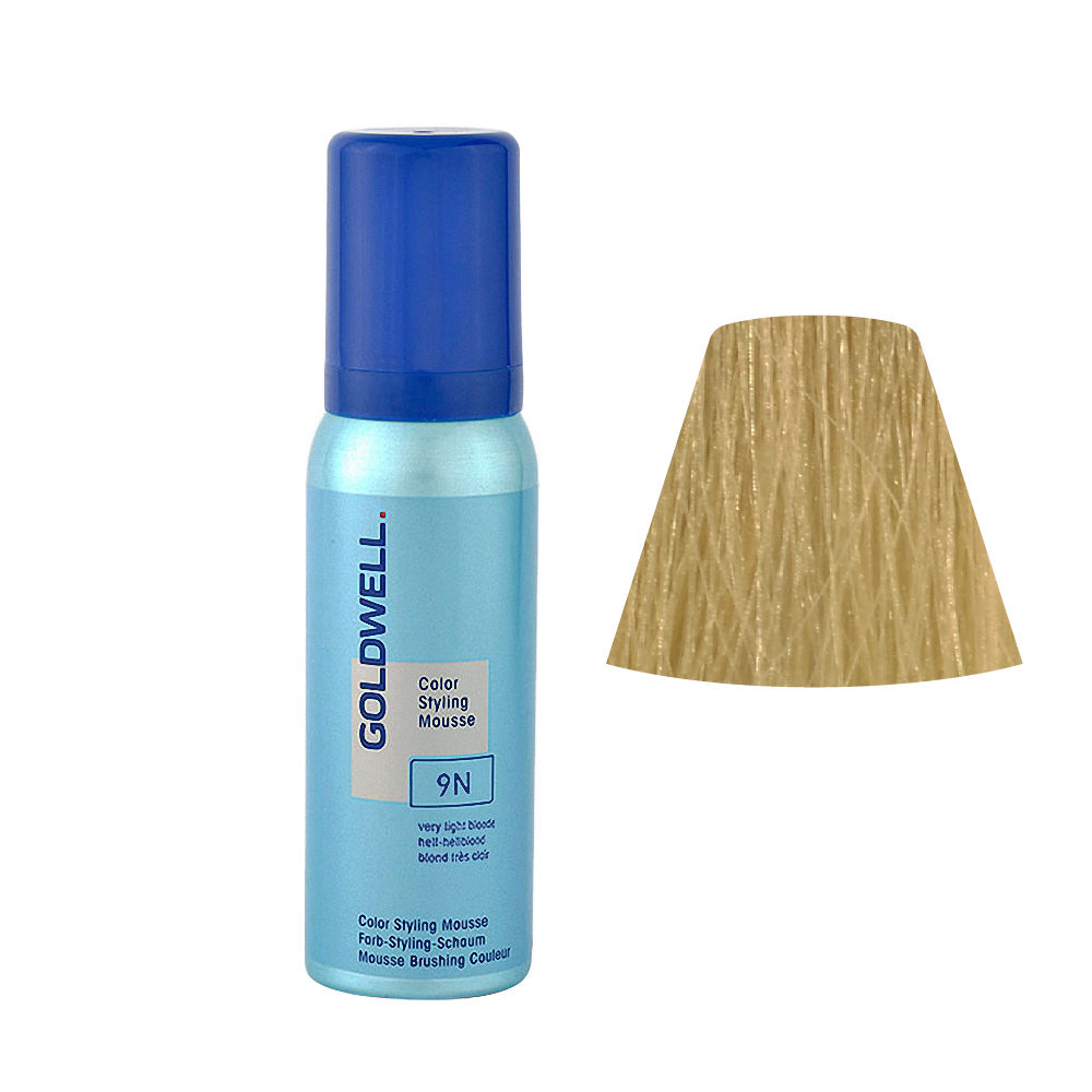 9N Hell-hellblond Goldwell Color Styling Mousse 9N, 75ml