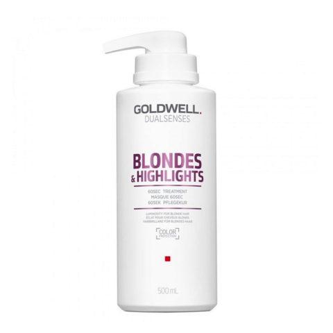 Goldwell Dualsenses blond & highlights 60sec treatment 500ml