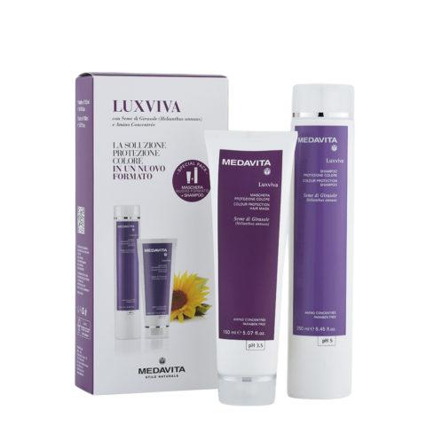 Medavita Lunghezze Luxviva Shampoo 250ml und Maske 150ml