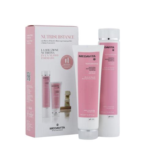 Medavita Lunghezze Nutrisubstance Shampoo 250ml und Maske 150ml