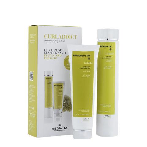 Medavita Lunghezze Curladdict Shampoo 250ml und Maske 150ml