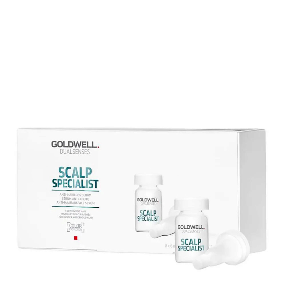 Goldwell Dualsenses Scalp specialist Anti-hairloss serum 8x6ml - Anti-Haarausfall Serum