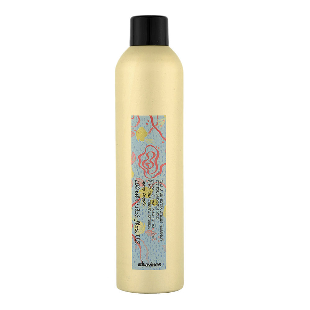 Davines More inside Extra Strong hairspray 400ml