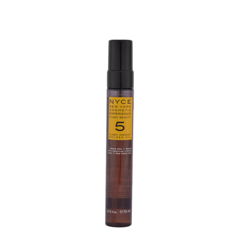 Nyce Flash Beauty Instant Golden Oil 75ml - restrukturierendes Öl