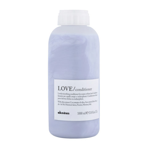 Davines Essential hair care Love smooth Conditioner 1000ml - Beruhigender Conditioner