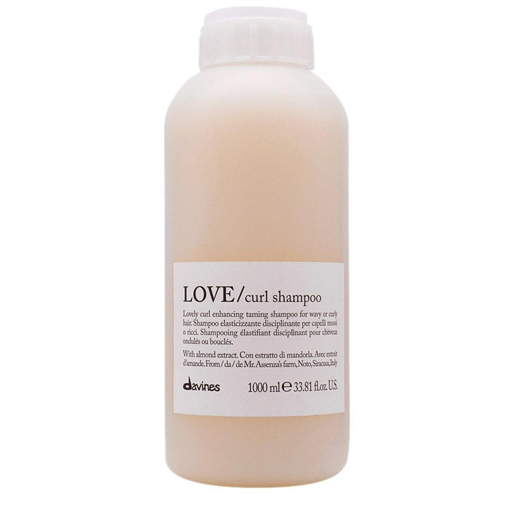 Davines Essential hair care Love curl Shampoo 1000ml - Ausgleichendes Shampoo