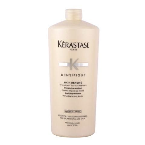 Kerastase Densifique Bain densite 1000ml - Strukturgebendes Shampoo, entworfen, um dünner werdendem Haar Fülle