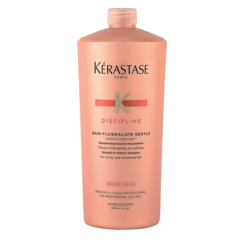 Kerastase Discipline Bain Fluidealiste Gentle 1000ml - Shampoo Sanft Antifrizz