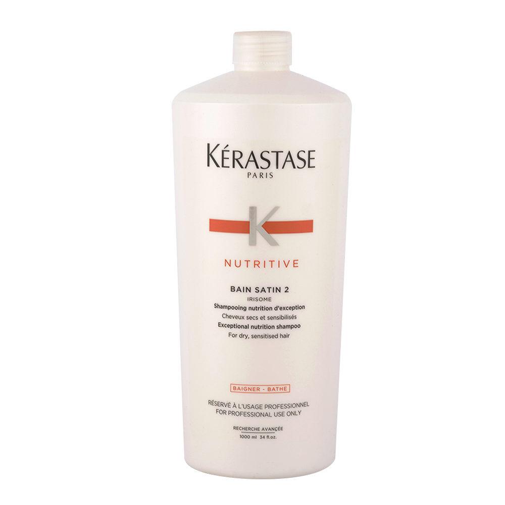 Kerastase Nutritive Pflege-Shampoo für feines oder dickes trockenes und strapaziertes Haar 1000ml