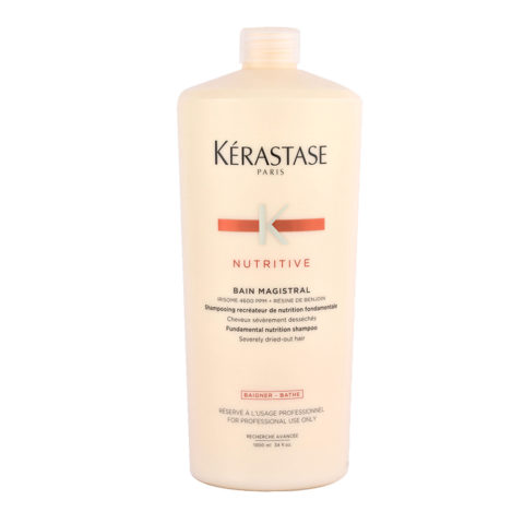 Kerastase Nutritive Bain Magistral 1000ml - tiefenpflegendes Shampoo für stark ausgetrocknetes Haar