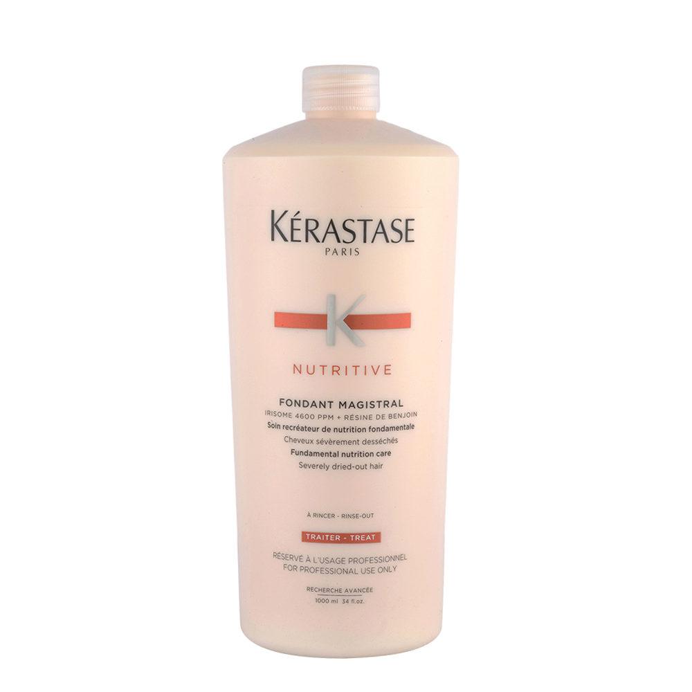 Kerastase Nutritive Fondant Magistral 1000ml grundlegender Pflege-Conditioner für feines und stark ausgetrocknetes Haar