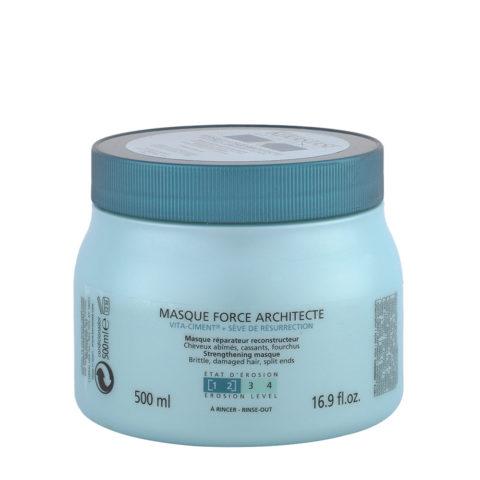 Kerastase Résistance Masque Force Architecte 500ml - Haarpflege-Maske für geschwächtes und geschädigtes Haar