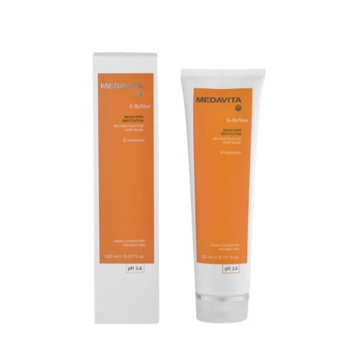 Medavita Lenghts Beta-Refibre Reconstructive hair mask pH 2.6  150ml stärkende Maske