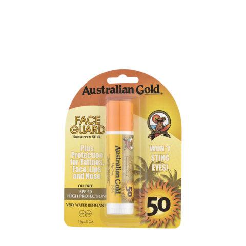 Australian Gold Protezioni in Stick  SPF50 Face Guard 14gr