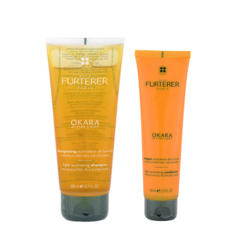 René Furterer Okara Kit Ritual for highlighted, bleached hair