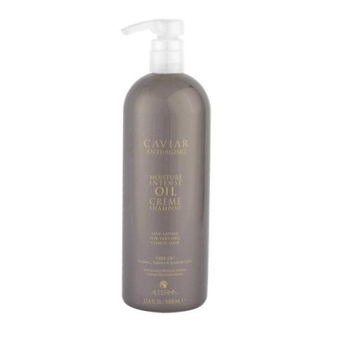 Alterna Caviar Moisture Intense Oil Creme Shampoo 1000ml - für trockenes und dickes Haar