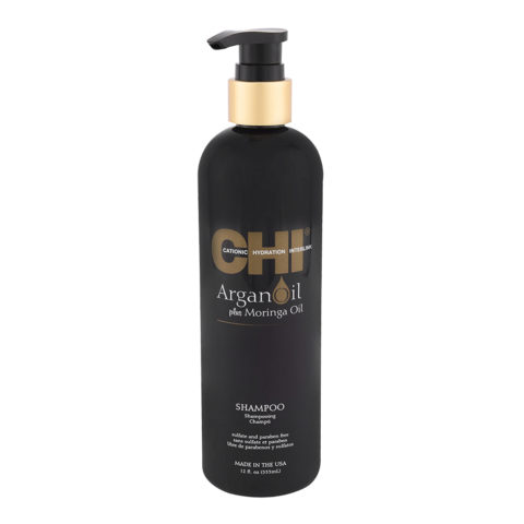 CHI Argan Oil plus Moringa Oil Shampoo 355ml - pflegendes Shampoo