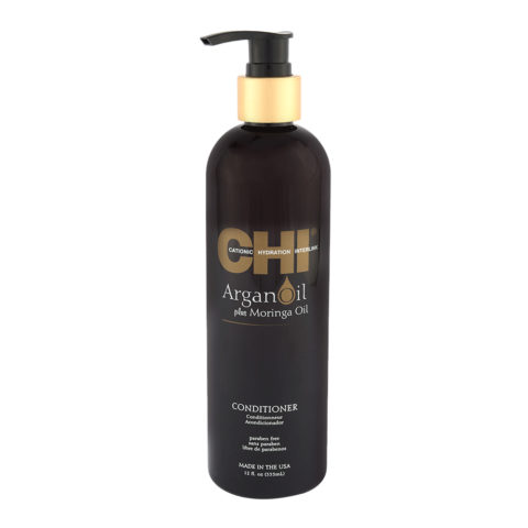 CHI Argan Oil plus Moringa Oil Conditioner 355ml - Pflegendes Conditioner