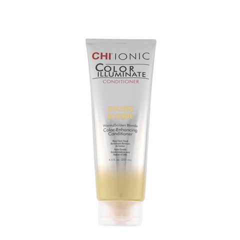 CHI Ionic Color Illuminate Conditioner Golden Blonde 251ml - Goldblond