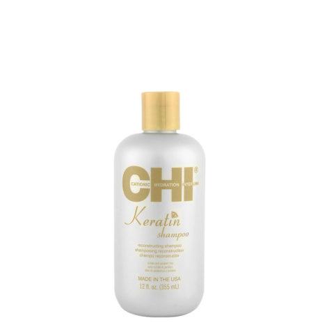 CHI Keratin Shampoo 355ml - Wiederaufbauendes Shampoo