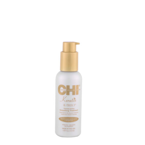 CHI Keratin K-Trix 5 Smoothing Treatment 115ml - glättende thermal Hitzeschutzspray