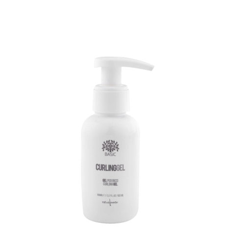 Naturalmente Basic Curling Gel 100ml Haargel für lockiges Haar