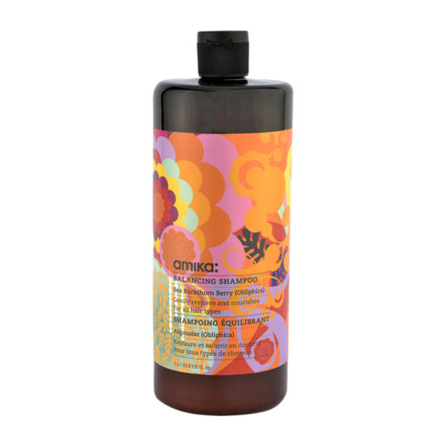 amika: Treatment Balancing Shampoo 1000ml - balancierendes Shampoo