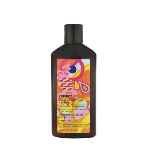 amika: Treatment Color Pherfection Shampoo 300ml - natürliches Shampoo für gefärbtes Haar