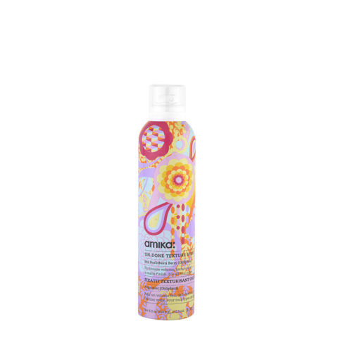 amika: Styling Un Done Texture Spray 232,5ml - Stylingsspray mit mattem Finish, Beach Effekt