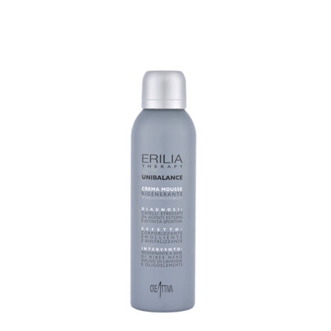 Erilia Unibalance Crema Mousse Rigenerante 200ml Conditioning Mousse-creme