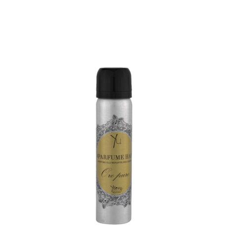 Ykena Parfume Hair Oro Puro 75ml - Glänzendes Haarparfüm