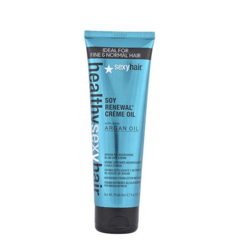 Healthy Sexy Hair Soy Renewal Creme Oil Nourishing Blow Dry Creme 125ml Öl in Feuchtigkeitscreme
