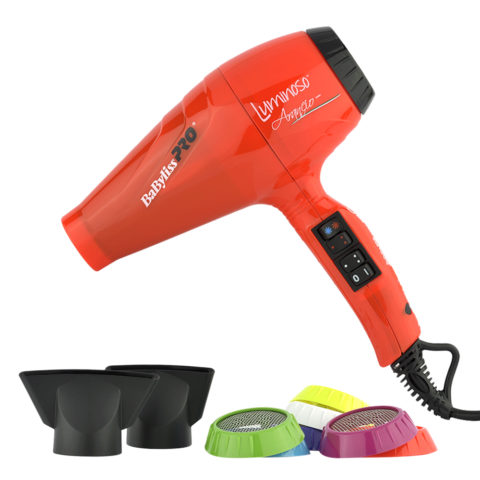 Babyliss Pro Haartrockner BAB6350IOE Luminoso Orange