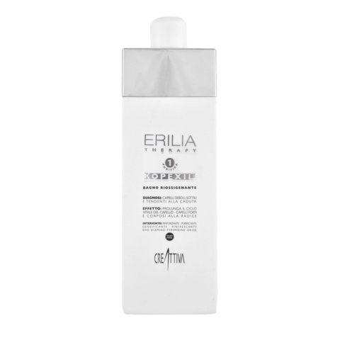 Erilia Kopexil Bagno Riossigenante 750ml  - Shampoo für schwaches und dünnes Haar