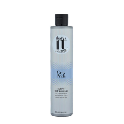Alfaparf That'S It Grey Pride Shampoo White & Grey Hair 250ml - FüR Graues Haar
