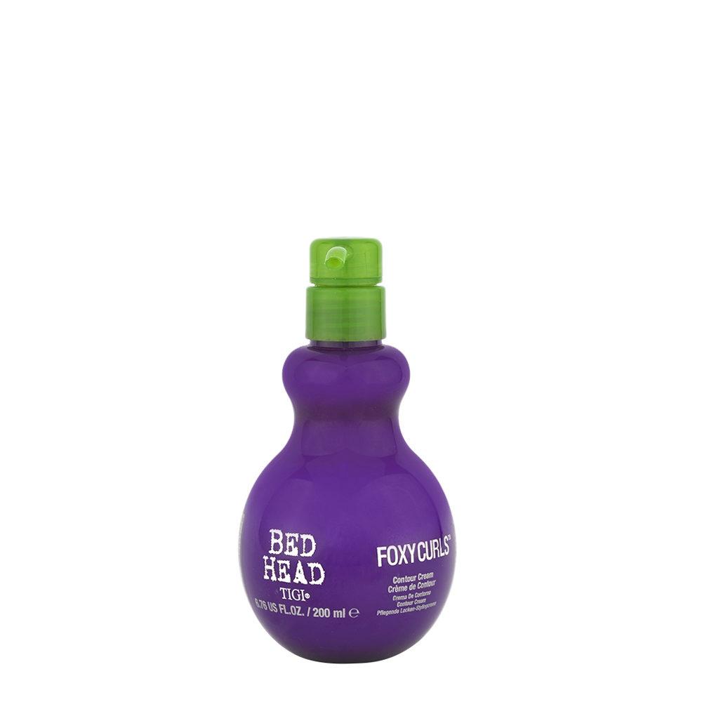 Tigi Bed Head Foxy Curls Contour Cream 200ml - pflegende locken